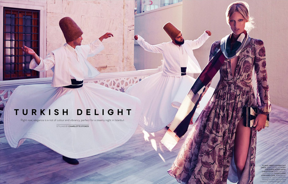 Turkish Delight for SHOP Magazine