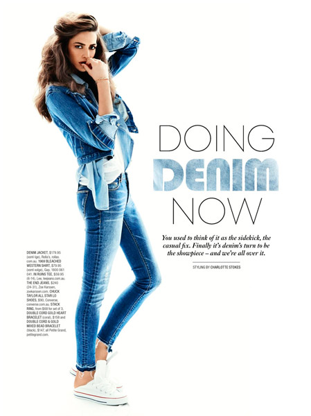 Denim for SHOP Magazine