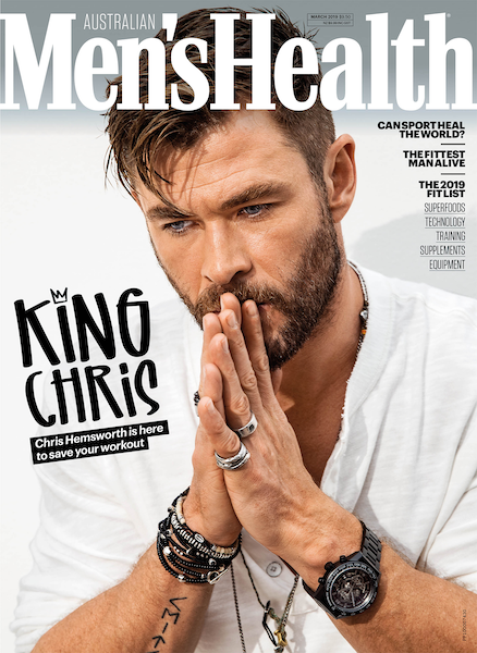 Chris Hemsworth MENS HEALTH