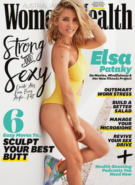 Elsa Pataky WOMENS HEALTH