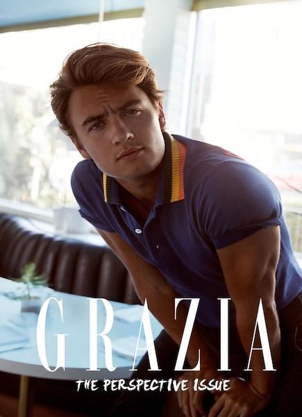 Brandon Thomas Lee - GRAZIA