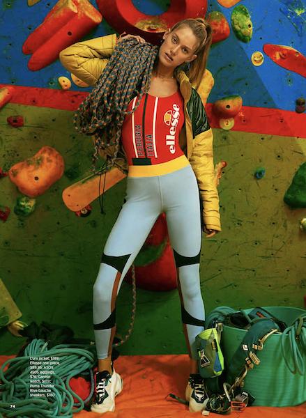 Rock Climber WOMENS HEALTH